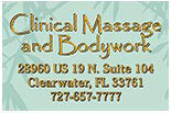 CLINICAL MASSAGE AND  BODYWORK logo