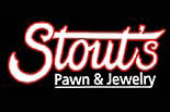 STOUT PAWN & JEWELRY logo