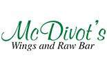 MCDIVOT'S WINGS & RAW BAR logo