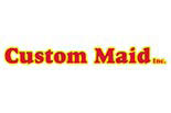 CUSTOM MAIDS logo