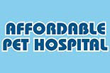 AFFORDABLE PET HOSPITAL logo