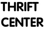 THRIFT CENTER logo