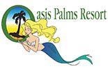 OASIS PALMS RESORT logo