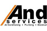 AND SERVICES logo