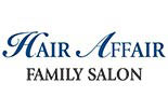 Hair Affair Family Hair Salon logo