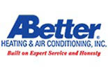A BETTER HEATING & AIR CONDITIONING INC logo