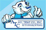 All Temp Co Inc Air Conditioning & Heating logo