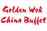 GOLDEN WOK CHINA BUFFET logo