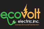ECO VOLT ELECTRIC logo