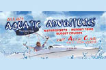 ALLEN'S AQUATIC ADVENTURES logo
