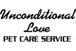 UNCONDITIONAL LOVE PET CARE logo