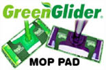 Save With The Original Green Glider� Mop Pad logo