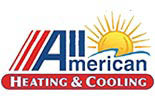 ALL AMERICAN HEATING & COOLING logo