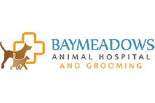 BAYMEADOWS ANIMAL HOSPITAL AND GROOMING logo