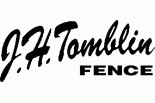 J. H. TOMBLIN FENCE COMPANY logo