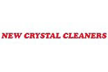 NEW CRYSTAL CLEANERS logo