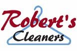 ROBERTS DRY CLEANERS logo