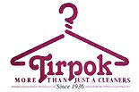 TIRPOK CLEANERS logo