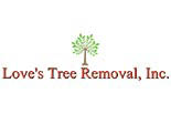 LOVES TREE REMOVAL logo