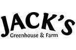 JACK'S GREENHOUSE & FARM logo
