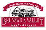 BRUNSWICK VALLEY ORTHODONTICS logo