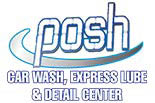 POSH WASH & LUBE logo