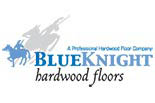 BLUE KNIGHT HARD WOOD FLOORS logo