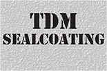 TDM SEALCOATING logo