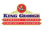 KING GEORGE PLUMBING & HEATING logo