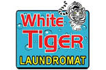 WHITE TIGER LAUNDROMAT logo