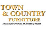 TOWN & COUNTRY FURNITURE logo