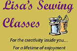 LISA'S SEWING logo