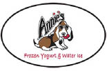 ANNIES FROZEN YOGURT & WATER ICE logo