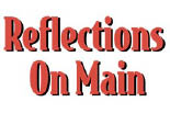 REFLECTIONS ON MAIN logo