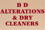 BD Alterations & Dry Cleaning logo