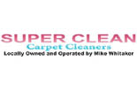 SUPER CLEAN CARPET CLEANING logo