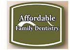 AFFORDABLE FAMILY DENTISTRY logo