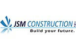 JSM CONSTRUCTION logo