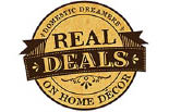 REAL DEALS ON HOME DECOR logo