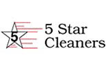 FIVE STAR CLEANERS logo