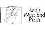 KEN'S WEST END PIZZA logo