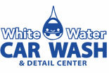 White Water Car Wash logo