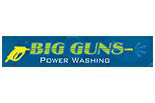 BIG GUNS POWER WASHING logo