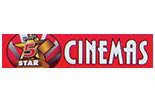 DERRY FIVE STAR CINEMAS logo