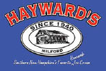 HAYWARD'S ICE CREAM MILFORD logo