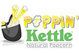 POPPIN KETTLE Natural Popcorn logo