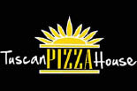 TUSCAN PIZZA HOUSE logo