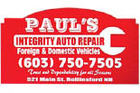 PAUL'S INTEGRITY AUTO logo