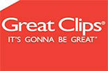 GREAT CLIPS- Chelmsford logo