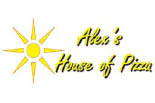 ALEXS HOUSE OF PIZZA logo
